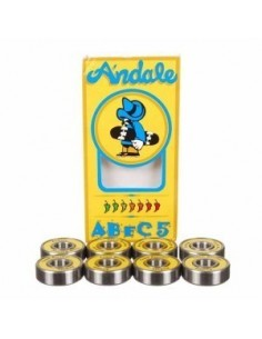 RODAMIENTOS ANDALE ABEC 5 SINGLE YELLOW