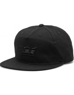 CAP SUPRA ICON SNAPBACK BLACK WHITE MARBLE