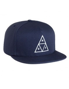 GORRA HUF TRIPLE TRIANGLE AZUL