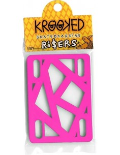 RISERS KROOKED HOT PINK   1/8  INCH