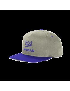 CAP NOMAD CROWN BLUE GREY
