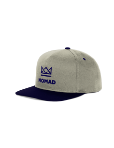 CASQUETTE NOMAD CROWN NAVY GREY