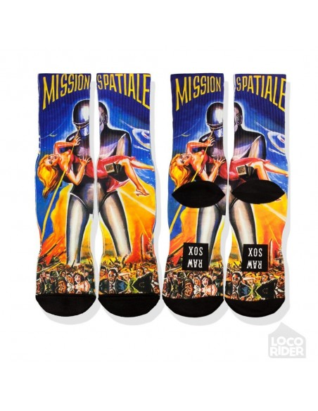 Calcetines Raw Sox Mission Spatiale