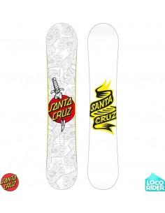 Santa Cruz Tattooed Hand Snowboard