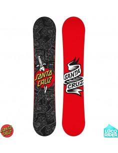 Tabla de Snowboard Santa Cruz Tattooed Hand Wide