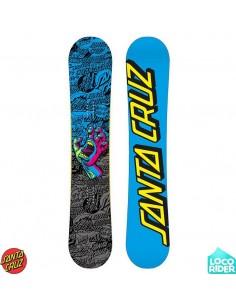 Tabla de Snowboard Santa Cruz Screaming Hand