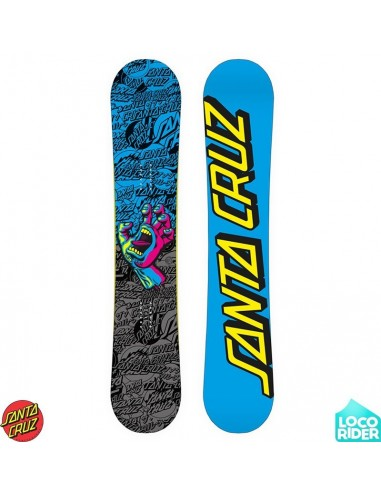 Tabla de Snowboard Santa Cruz Screaming Hand