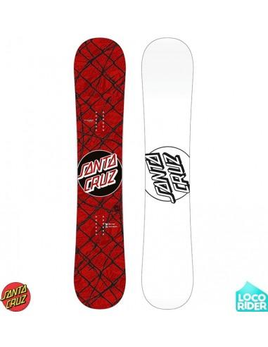 Tabla de Snowboard Santa Cruz Barbed Wire Red