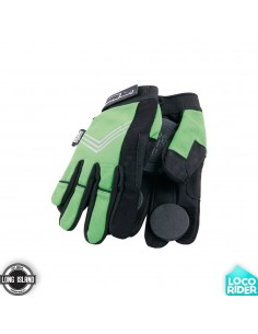 Guantes de Longboard Long Island Curly Green