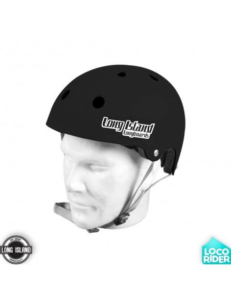 Long Island EVA Black Longboard Helmet