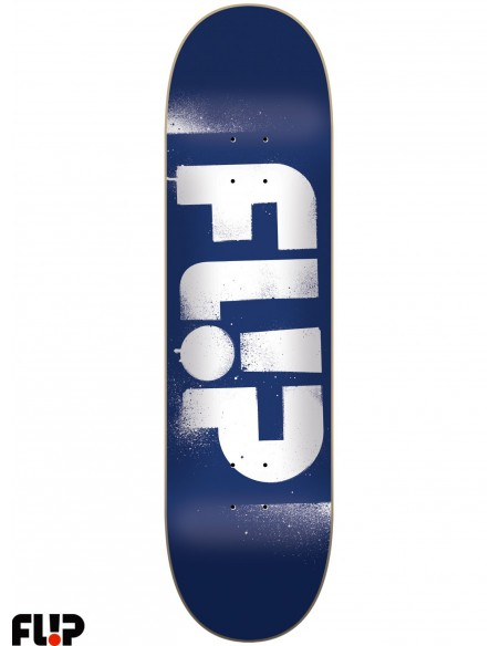 Flip Skateboards Stencil Blue 8.0