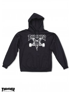 Hoodie Thraser Skategoat Black