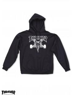 Thraser Skategoat Black Hoodie