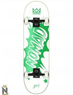 Nomad Skateboards Banger Green 7.875