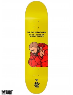 JART Skateboards CFK 8.125