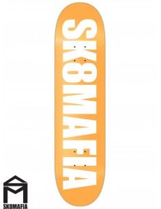 SK8MAFIA Og Logo Highligth Orange 8.25