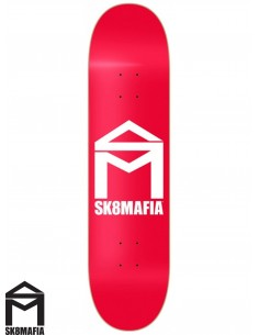 SK8MAFIA House Logo Red 8.0