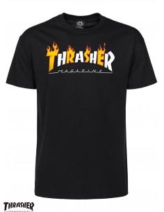 Thrasher Flame Mag Black