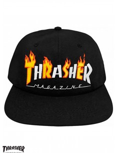 Thrasher Flame Mag Black