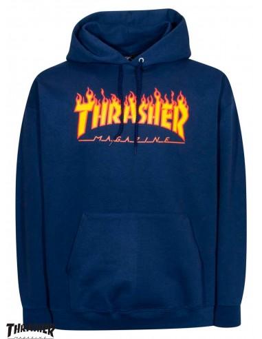 Thrasher Flame Logo Navy