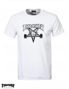 Camiseta Thraser Skategoat White