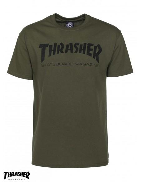 Thrasher Mag Army Green