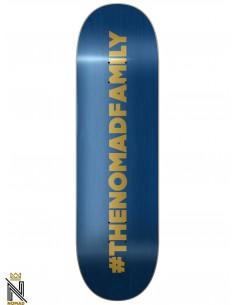 Nomad Skateboards Hashtag Blue 8.43