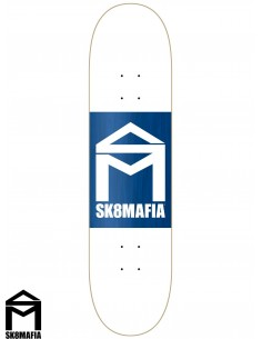 SK8MAFIA House Logo Wht Double  8.25