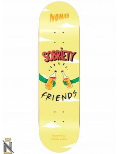 Nomad Skateboards Role Models Sobriety 8.0
