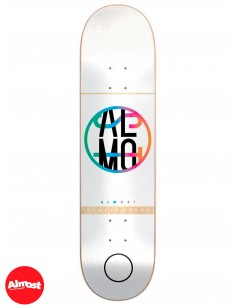 Almost Skateboards Color Crash White 7.5