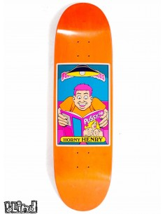 "Blind Skateboards Heritage FUBK Horny Henry 9.0"" HT"
