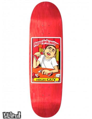 Blind Skateboards Heritage Fucked Up Blind Kids High Guy 9 0