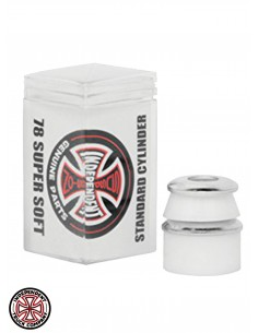 Independent bushings Cylinder Super Soft White 78 A