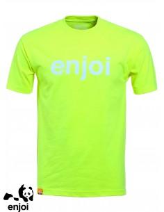 Enjoi Helvetica Logo Limette