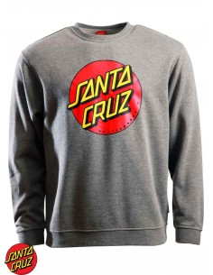 Santa Cruz Classic Dot Grau