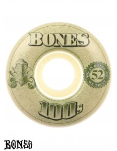 BONES WHEELS 100'S OG V4 52mm