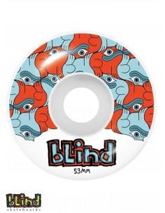 BLIND TILE STYLE WHEELS 53MM