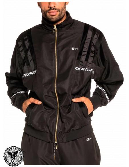 Grimey Nemesis Track Jacket Black