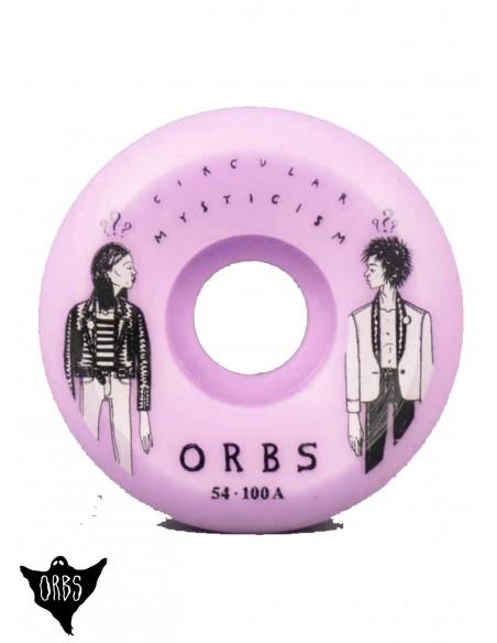 Orbs Wheels Pink 54mm