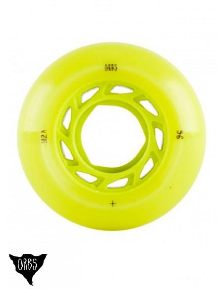 Orbs Wheels Lime 55mm
