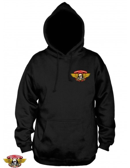 Powell Peralta Winged Ripper Hoody Negro