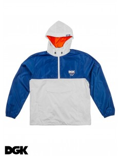 DGK Windbreaker Jacket Boardwalk Blanca