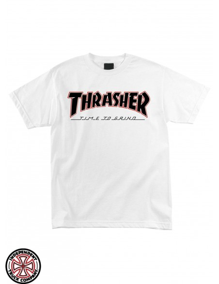 Independent x Thrasher Time to Grind Blanca