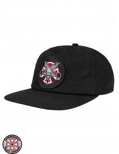 Independent x Thrasher Pentagram Cross C Nero