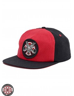 Independent x Thrasher Pentagram Cross C Red
