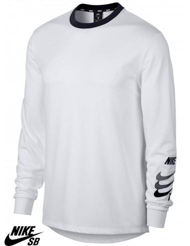 6e2bd153 Nike SB Dry White Long Sleeve T-Shirts