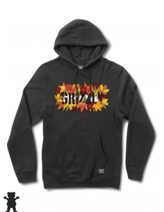 Grizzly Griptape Seasonal Stamp Hoodie Negro