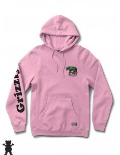 Grizzly Griptape Fontaine Hoody Pink