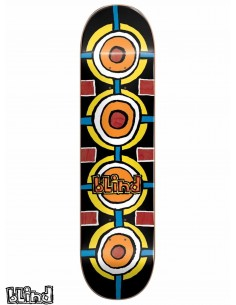 Blind Skateboards Round Space Black 8.0