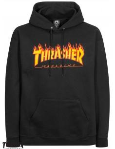Thrasher Flame Logo Noir